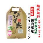 新米 令和2年 ミルキークイーン 新潟県産 特別栽培米 玄米5Kg 白米・7分づき・5分づき・3分づき・玄米・精米無料