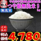 米 お米 宮城県産 つや姫 玄米 10kg (精米選択:無洗米9kg) 28年産 送料無料