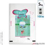 米袋 ラミ フレブレス キヌヒカリ 花と少女 5kg用 100枚セット MN-4890