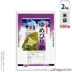米袋 ポリ マイクロドット 北海道産ゆめぴりか そよかぜ 2kg用 1ケース(500枚入) PD-0005 [改]