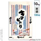 米袋 ポリ マイクロドット キヌヒカリ 和心 10kg用 100枚セット PD-0028 [改]