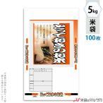 米袋 ポリ マイクロドット とっておきのお米 5kg用 100枚セット PD-2000