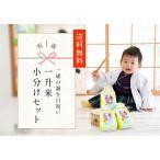 一升餅 1歳 小分け 御祝  送料無料 メッセージ 名前入 写真付 一升米ミニ(300g)×5袋セット