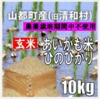 平成29年 玄米 熊本県山都町産アイガモ米 ヒノヒカリ 10kg