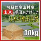 平成29年 玄米 阿蘇産山村産 棚田あきげしき 30kg