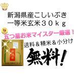 28年産新潟県産こしいぶき玄米30kg一等米