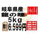 米 29年度産 岐阜県産 龍の瞳(いのちの壱) 5kg