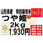 米 令和1年度産 山形県産 特別栽培米 つや姫 2kg