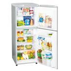 アクア 2ドア冷凍冷蔵庫 AQR-141F シルバー 140L