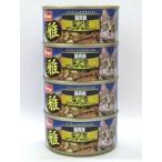 Pet ami 猫貴族 雅(みやび) かつおまぐろアンチョビ入り 80g×4缶パック