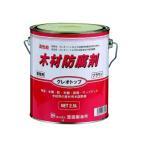 木材防腐剤 クレオトップ 2.5L ブラウン
