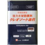環境配慮型 クレオソート油R こげ茶 14kg