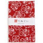 彩てぬぐい(irodori) 招き猫 小紋調 日本製 ほつれ防止加工あり 乾きやすい 昔ながら タオル ハンカチ TE-06081M-IR