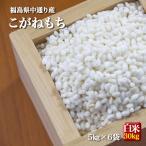 もち米 お米 令和2年産 福島県中通り産こがねもち白米30kg(5kg×6個) ※沖縄県・離島対応不可