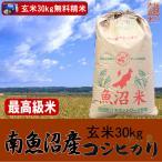 南魚沼産コシヒカリ(玄米) 30kg(平成28年) 【送料無料(本州のみ)】 佐川急便でお届け