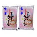 【玄米】 福島県産ミルキークイーン10kg (5kg×2袋) 令和2年産石抜き処理済「ふくしまプライド。体感キャンペーン(お米)」