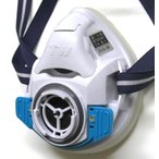 重松製作所 取替え式防塵マスク・直結式小型防毒マスク TW01SC WH Mサイズ面体のみ 11961