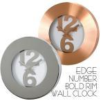 ショッピング壁掛け 時計 壁掛け 掛け時計 壁掛け時計 EDGE NUMBER BOLD RIM WALL CLOCK 30cm ウォールクロック 掛時計 壁掛け 壁時計 クロック インテリア おしゃれ デザイン