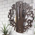 ショッピング壁掛け 時計 壁掛け 掛け時計 壁掛け時計 EDGE 振り子壁掛け時計 FOREST ブラウン 40cm ウォールクロック 掛時計 壁掛け 壁時計 クロック インテリア 鳥 振り子 ふりこ