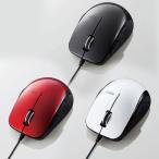 BLueLEDマウス 有線 静音5ボタン サイドラバー 2000dpi ブラック 1コ入