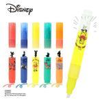 フローティングハイライター ディズニーキャラクター Disney 蛍光ペン 蛍光マーカー 蛍光 文具 ペン マーカー