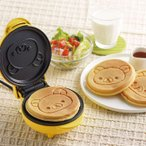 あすつく リラックマ パンケーキメーカー ホットケーキメーカー リラックマの焼き目がつく 丸型 コンパクト かわいい