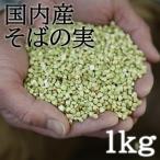 国内産 そばの実 (丸抜き、むきそば) 1kg 28年産そば (marunuki)