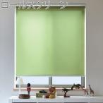トーソー ロールスクリーン ラビータ プレーン 既製サイズ 幅90cm×丈200cm スプリング式