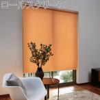トーソー ロールスクリーン ラビータ カジュアル 既製サイズ 幅45cm×丈135cm スプリング式