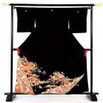 留袖レンタルフルセット「菊に玉手箱」re-tom-039 留袖 着物 黒留袖 とめそで 礼装 貸衣装 結婚式 神社挙式 人前式 貸衣裳 草履 バッグ 小物セット フォーマル
