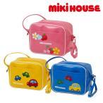 MIKI HOUSE(ミキハウス)★車&お花のエナメル幼稚園バッグ