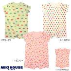 MIKI HOUSE(ミキハウス) 車×お花×ドット柄のショートオール