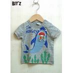 ショッピングビッツ BIT'Z / ビッツ 子供服  サメプリントTシャツ 半袖Tシャツ 男の子 2018SS