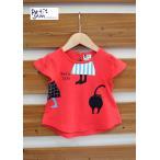 ショッピングJAM Petit jam / プチジャム 子供服 キッズ半袖カットソー 2柄モチーフAラインTシャツ 女の子 2017SS