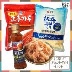 Yahoo!韓国食品市場★韓国本場味★キムチ材料★『白菜キムチを自分で作ってみたい!』 白菜1個分調味料セット