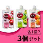 ホンチョ(紅酢)蒟蒻ゼリー 180g*3種セット(ざくろ・青りんご・いちご&グレープフルーツ)