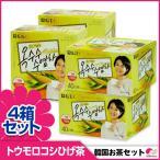 【韓国お茶セット7】【40T4箱セット】とうもろこしのひげ茶60g(1.5g×40)x4箱 ティーバッグ