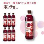 ★ホンチョザクロ1500ml x 6本◆ ダイエット 健康 飲料 酢飲料 発酵酢 食物繊維 / 紅酢