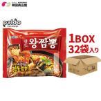 Yahoo!韓国商品館新商品 Paldo 火ブルチャンポン 1BOX(139g x 32袋)★パルド スープのクオリティが特に高いチャンポン 激辛チャンポン 韓国ラーメン /インスタントラーメン