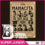 【CD】SUPER JUNIOR 正規7集 MAMACITA Ver.B◆ スーパージュニア/ママシータ アヤヤ AYAYA