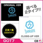 【予約11/21】【CD】GOT7 - VOL.1 [IDENTIFY]  バージョン選択 ORIGINAL VERSION/CLOSE-UP VERSION【RCP】