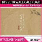 送料無料 即日発送 BTS(防弾少年団) 2018 WALL CALENDAR GOODS 発売12月26日