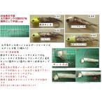 タチウオテンヤ 太刀魚テンヤ用ベイトホルダー ショートサイズテンヤ専用 冷凍餌対応(2個入り)