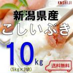 米 10kg (5kg×2) 送料無料 新潟県産 こしいぶき 令和元年産