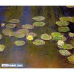 クロード・モネ「睡蓮?」107x126cm 肉筆油絵複製画