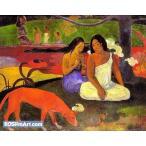 ポール・ゴーギャン「アレアレア」48x60cm 肉筆油絵複製画