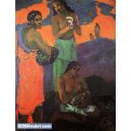 ポール・ゴーギャン「母性」71x54cm 肉筆油絵複製画