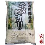 新潟県 妙高産キヌヒカリ5kg(玄米) (28年産 1等米)