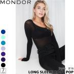 フィギュアスケート ウェア MONDOR(モンドール) ロングスリーブボディーポップ 816 大人用 [5colors]