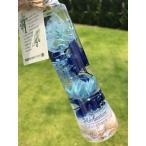 ハーバリウム 夏 海 貝殻 青 黄 ピンク マリンブルー イエロー ピンク ハーバリウム healing インテリア 小